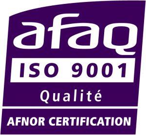 Logo iso 9001, AFNOR